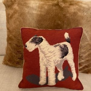 🌟Embroidered Dog Pillow